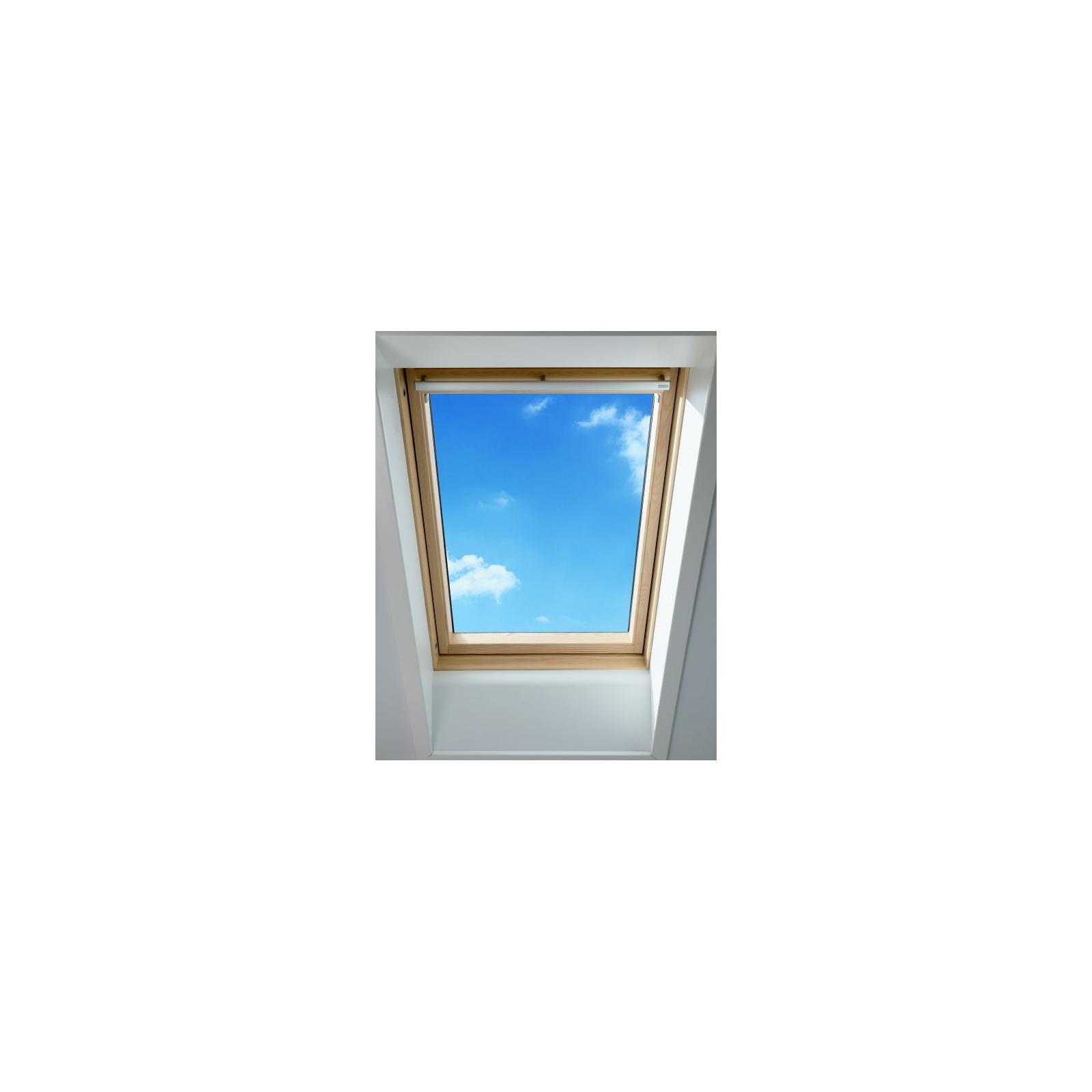 velux raam ggl sk06 114x118 cm 2050 fsc wit bouwcenter. Black Bedroom Furniture Sets. Home Design Ideas
