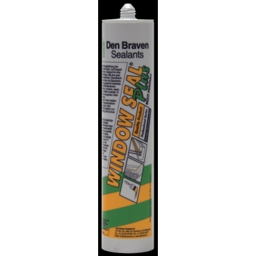 Zwaluw window seal plus 310 ml afdichtingskit bruin