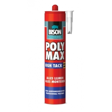Bison Poly Max high tack 425 gr wit