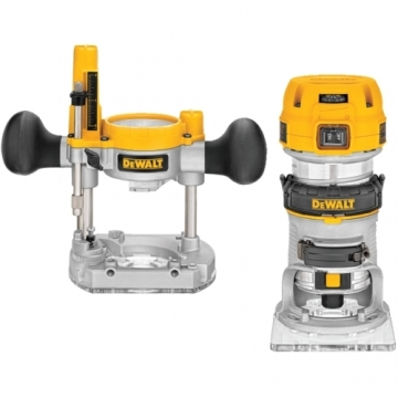 Dewalt bovenfrees D26204K-QS freesdiepte 36 mm invalfrees combinatie