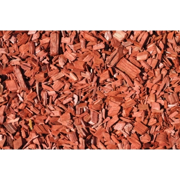 Decochips red 35 liter rood hout 20-40mm