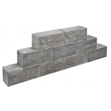 Stapelblok 35x15x15 cm castle rock spotted bluestone