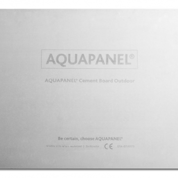 Knauf aquapanel 1200x900x12,5 mm outdoor