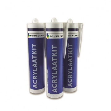 BouwCenter acrylaatkit 310 ml wit