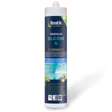 Bostik premium silicone N 310 ml wit