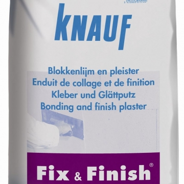 Knauf fix en finish 10 kg pleistergips